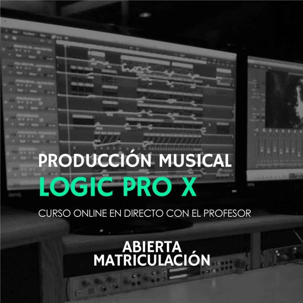 curso online de logic pro x